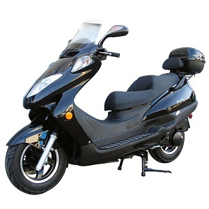 Roketa MC-13 150cc Moped Scooter, 4-Stroke, Air Cooled, Electric /kick Start