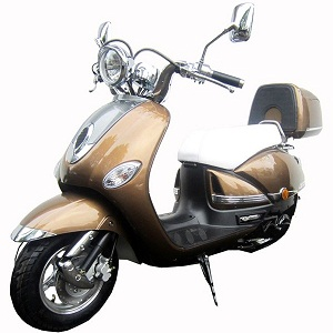 Roketa MC-16L 150cc Scooter, Automatic, 4-Stroke, Air Cooled, Eletric /kick Start