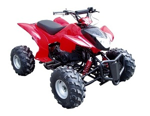Blizzard 150cc full size atv
