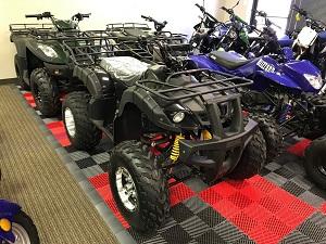 RPS DF200AVA 170cc ATV w/Upgraded Chrome Rims