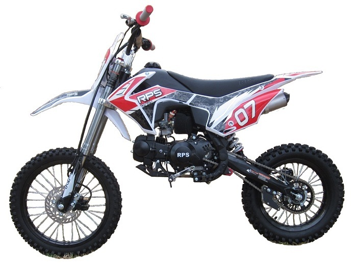 Buy Rps Egl 07 125cc Dirt Bike Manual 4 Speed Transmission Single Cylinder Air Cooled 4 Stroke For Sale At Txpowersportscom