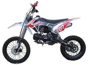 RPS EGL-07 125cc Dirt Bike, Manual, 4 Speed Transmission, Single Cylinder, Air Cooled, 4 Stroke
