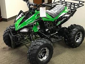 RPS High End JET-9 125cc ATV w/Upgraded Chrome Rims