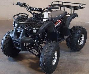 RPS High End Raider 8 125cc Kids ATV w/Upgraded Chrome Rims