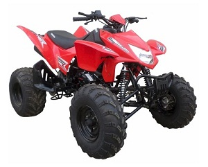 new atv 250 cc tornado Manual with reverse