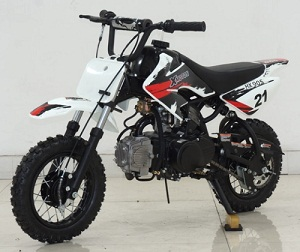 Ricky Power Sports XMOTO HX90S 90cc Kids 3 Speed, Semi-Automatic Transmission Dirt Bike