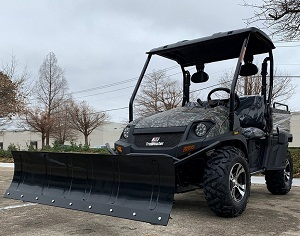 SNOW PLOW FOR TRAIL MASTER UTVs