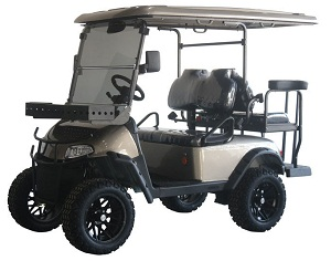 T-40 4-SEATER UTV, ELECTRIC GOLF CARTS