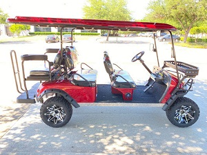 T-60 6-SEATER UTV, ELECTRIC GOLF CARTS
