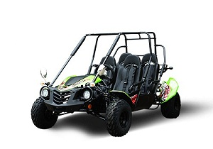 TrailMaster Blazer4 200X 200CC Family Size 4-Seater Go Kart, 4-Stroke, Single Cylinder, Air Cooled