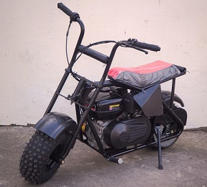 TrailMaster Mini Bike Storm 200, 196cc, 6.5 HP, Air Cooled, 4-Stroke, Single Cylinder