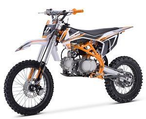 Trailmaster TM27 125cc  Dirt Bike, Single Cylinder, 4-Stroke, Air Cooled, Kick Start
