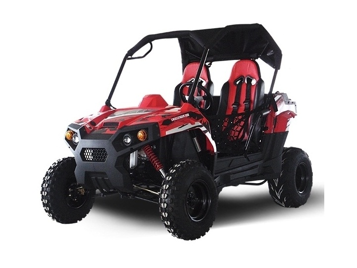 Side By Side For Sale >> Buy The Trailmaster Challenger 300s Utv Side By Side For Online Sale At Txpowersports Com