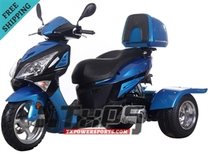Ice Bear HAWK 150cc Motor Trike PST150-18 (Big bright eyes, Sharp looking)