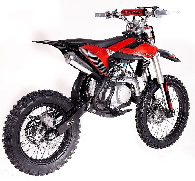 NEW V12 124cc Dirt Bike