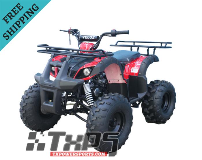 110cc Atv For Sale >> Buy The Veloz Atv08 3r 110cc Atv Kids 110cc Four Wheelers