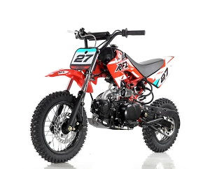 Vitacci DB-27 110Cc Dirt Bike, Semi Automatic