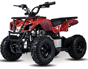 New Vitacci Mini Hunter 60cc ATV, Single Cylinder, 4-Stroke, Air Cooled, Automatic, Electric Start