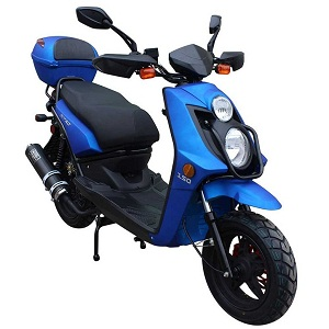 Vitacci Nitro 50cc Scooter, Electric/Kick Start