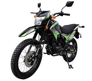 Vitacci Raven 250cc Dirt Bike, Air Cooling, 4-Stroke