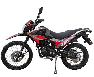 Vitacci Raven 250cc XL Dirt Bike, Air Cooling, 4-Stroke, Electric/Kick